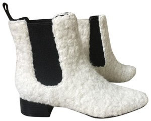 Charles & Keith white Boots
