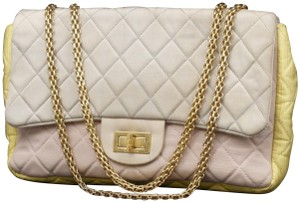 Chanel Maxi Classic Quilted Caviar Patchwork Shoulder Bag