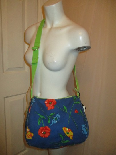 Liz Claiborne Floral Print Reversible 003 Shoulder Bag Image 1