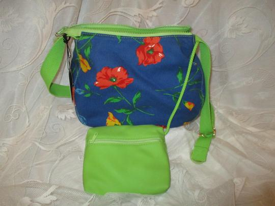 Liz Claiborne Floral Print Reversible 003 Shoulder Bag Image 2