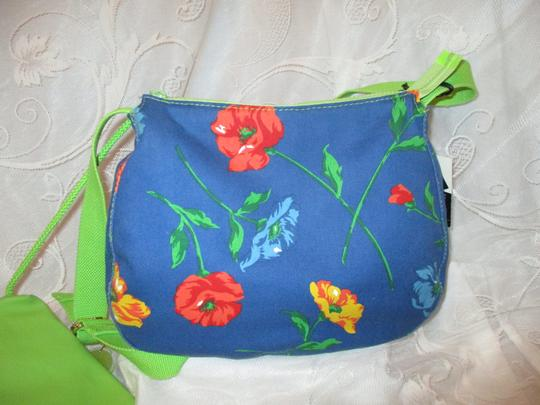 Liz Claiborne Floral Print Reversible 003 Shoulder Bag Image 5