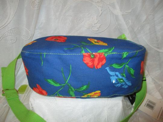 Liz Claiborne Floral Print Reversible 003 Shoulder Bag Image 7