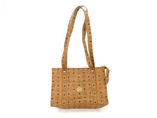 Preload https://img-static.tradesy.com/item/24978340/mcm-cognac-monogram-visetos-shopper-234665-brown-coated-canvas-tote-0-0-540-540.jpg