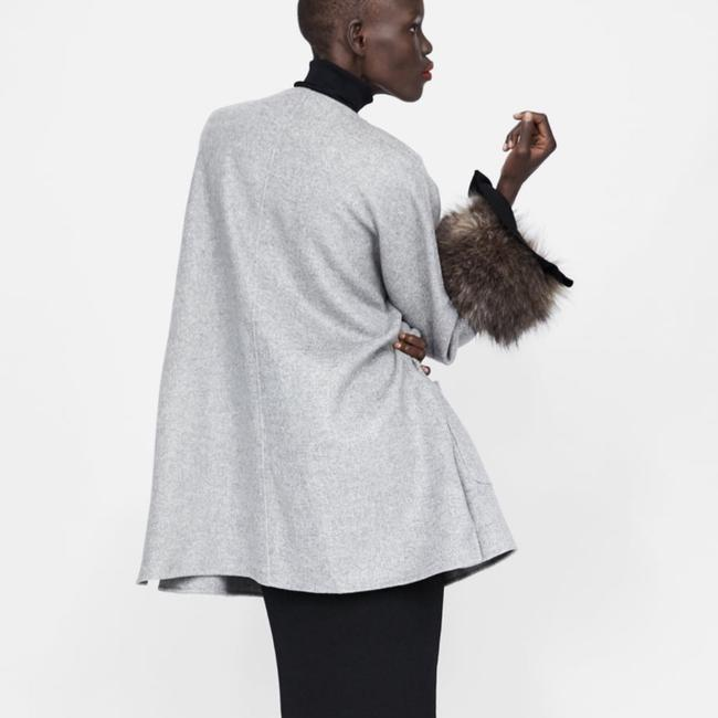 Zara Fur Coat Image 2