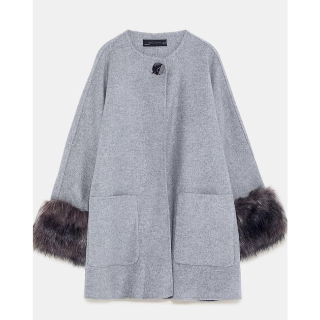 Zara Fur Coat Image 4