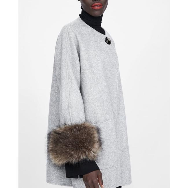 Zara Fur Coat Image 5
