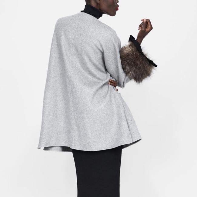 Zara Fur Coat Image 6