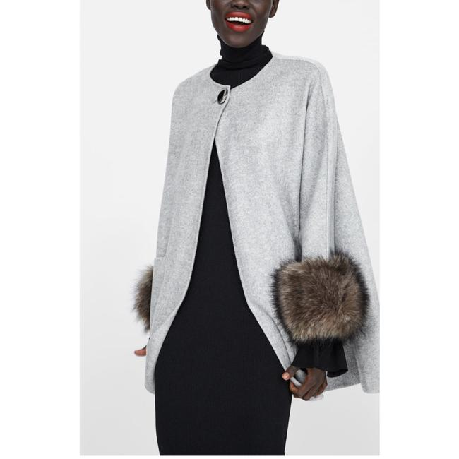 Zara Fur Coat Image 7