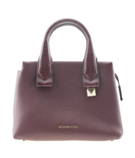 Preload https://img-static.tradesy.com/item/24978576/michael-kors-rollins-small-python-embossed-2-way-167712-burgundy-leather-tote-0-0-540-540.jpg