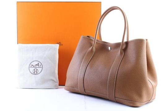 Hermes Neverfull Birkin Kelly Cabas Gst Tote in Brown Image 1