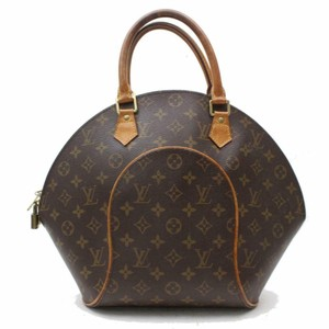 Louis Vuitton Eclipse Elipse Bowler Shell Satchel in Brown
