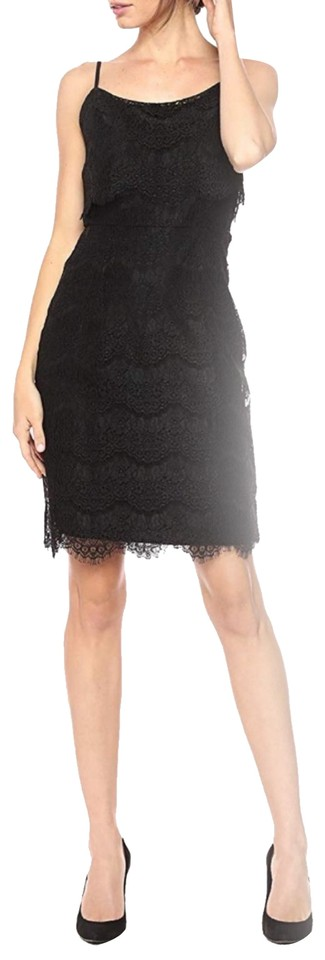 025b4386fc Nanette Lepore Lace Sleeveless Night Out Bella Short Dress Image 0 ...