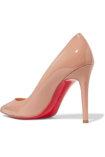 Christian Louboutin Pigalle nude patent Pumps Image 2