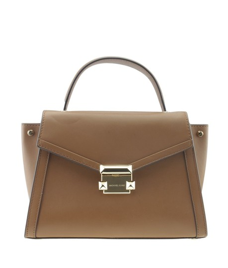 Preload https://img-static.tradesy.com/item/24978944/michael-kors-whitney-small-top-handle-167724-brown-leather-satchel-0-0-540-540.jpg