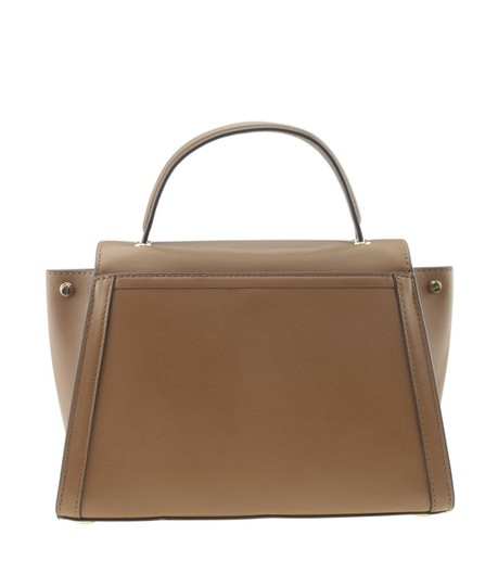 Michael Kors Leather Dustbag Canvas Satchel in Brown Image 4