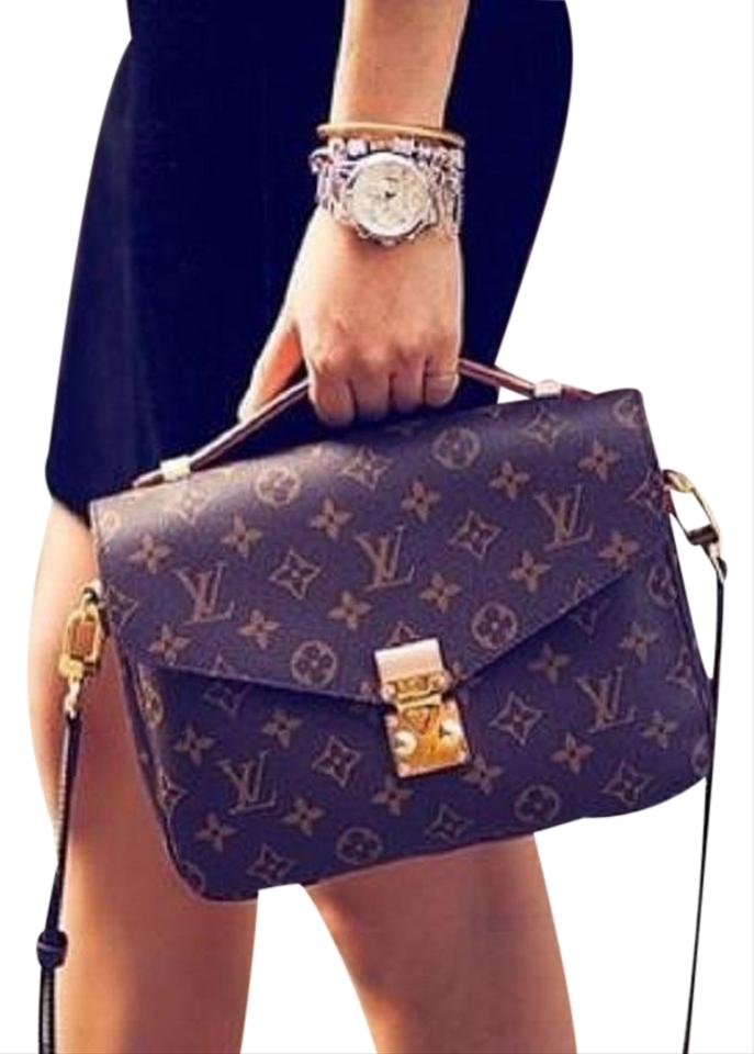 9850c0347 Louis Vuitton Spring Top Handle Shoulder Clutch Cross Body Bag Image 0 ...