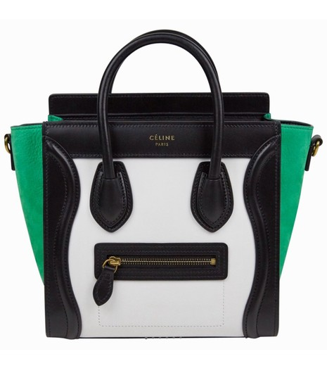 Preload https://img-static.tradesy.com/item/24979169/celine-luggage-extra-300-off-with-coupon-nano-multicolor-white-green-nubuck-and-calfskin-leather-cro-0-0-540-540.jpg