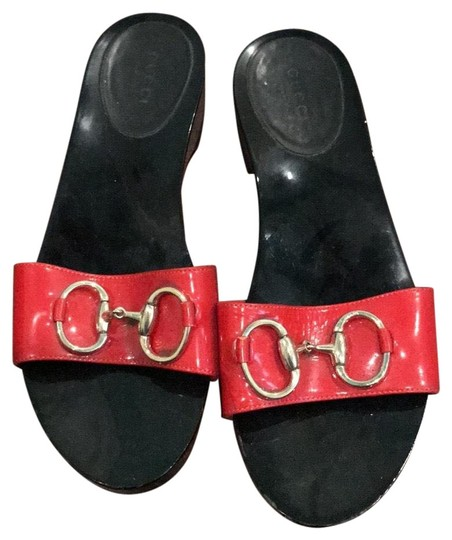 Gucci red Sandals Image 0