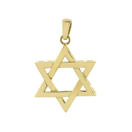 Preload https://img-static.tradesy.com/item/24979221/avital-and-co-jewelry-yellow-14k-gold-magen-david-the-star-of-david-charm-0-0-540-540.jpg