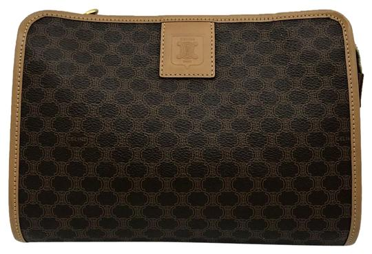 Preload https://img-static.tradesy.com/item/24979245/celine-brown-macadam-printed-coated-canvas-pouch-sale-cosmetic-bag-0-1-540-540.jpg