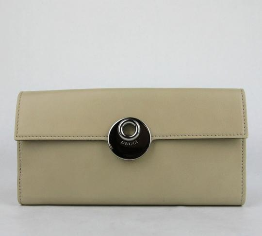 1edaa4441428 ... Gucci Women's Beige Brown Trifold Wallet with Coin Pocket 231835 2609  Image 1