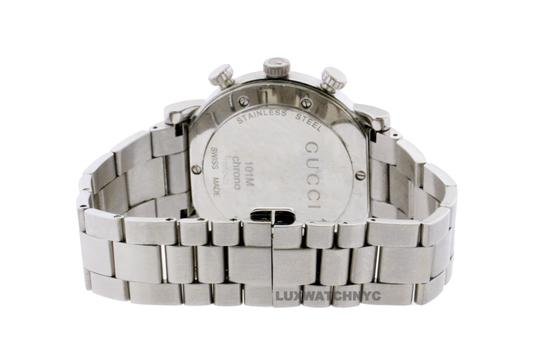 Gucci GUCCI CHRONO STAINLESS STEEL WITH FACTORY ORIGINAL DIAMOND BEZEL Image 4