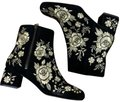 Johnny Was black gold Boots Image 0
