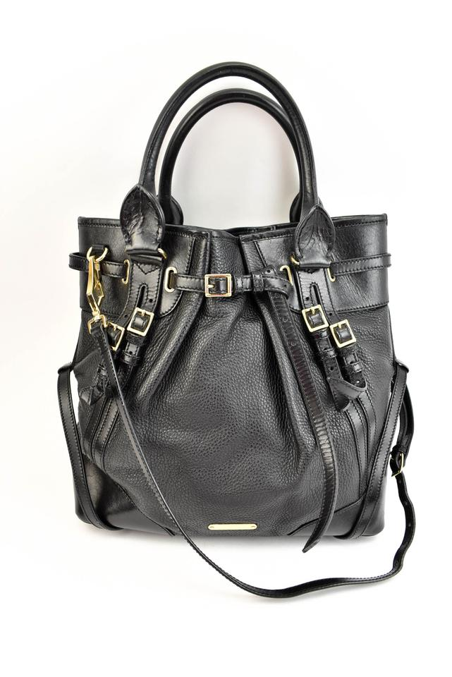 2bd5f1816a00 Burberry Black Leather