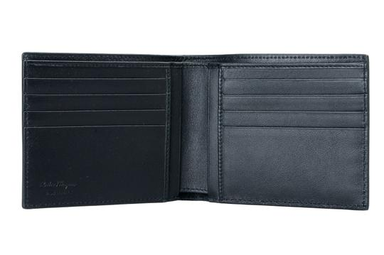 Salvatore Ferragamo Salvatore Ferragamo 100% Leather Printed Men's Bifold Wallet Image 2