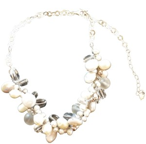 Silpada Silpada Pearl and Crystal Necklace, hand knotted