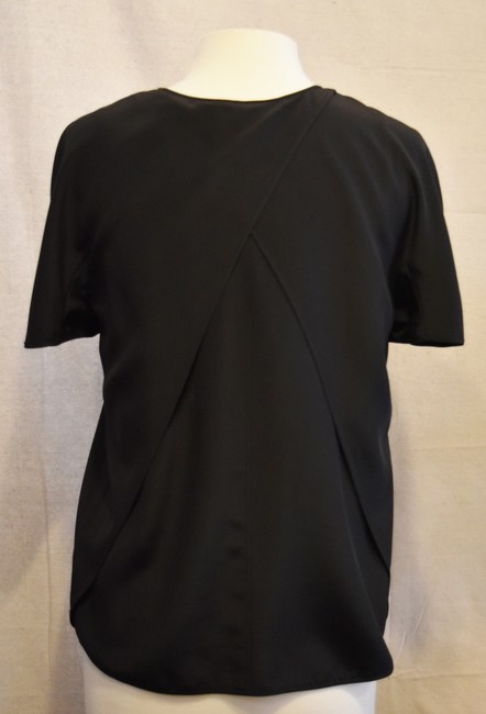 Alexander Wang Silk Casual Top Black Image 3