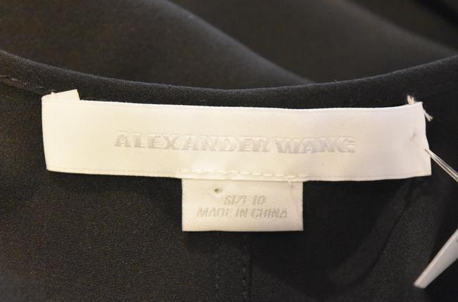 Alexander Wang Silk Casual Top Black Image 5