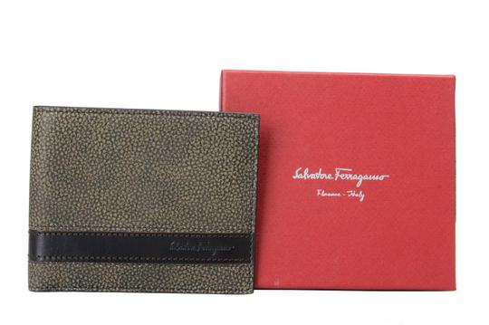 Salvatore Ferragamo Salvatore Ferragamo 100% Leather Multi-Color Men's Bifold Wallet Image 3