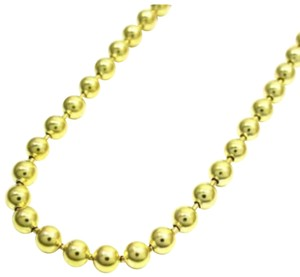Impressed Jewelry 30'' 2.8mm 20.00 Grams 10k Yellow Gold Bead Ball Army Chain Necklace