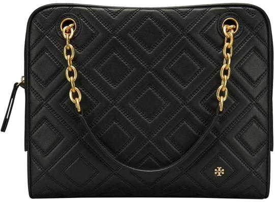Preload https://img-static.tradesy.com/item/24979650/tory-burch-fleming-new-purse-quilted-black-leather-tote-0-1-540-540.jpg