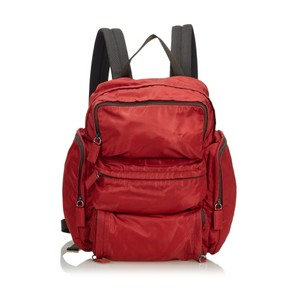 a76935693d Red Prada Backpacks - Up to 90% off at Tradesy