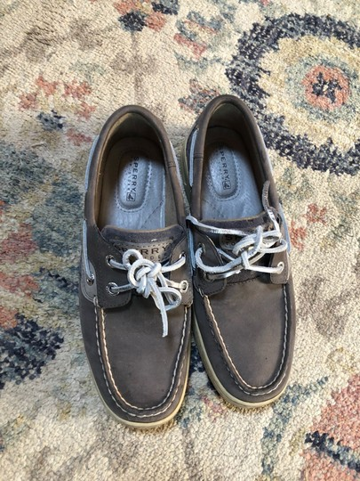Sperry grey Flats Image 1