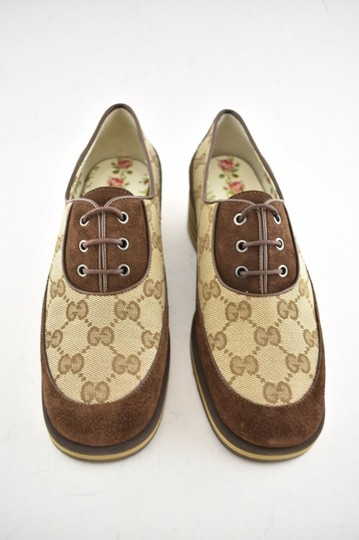 Gucci Loafer Mule Slide Flat Marmont brown Pumps Image 4