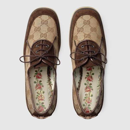 Gucci Loafer Mule Slide Flat Marmont brown Pumps Image 5