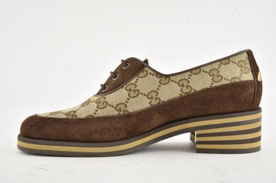 Gucci Loafer Mule Slide Flat Marmont brown Pumps Image 7