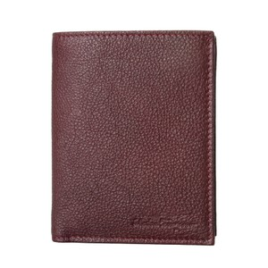 3c1b43e306 Salvatore Ferragamo Salvatore Ferragamo Men s Deep Burgundy 100% Pebbled  Leather Wallet