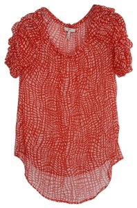 Joie Top Red/White