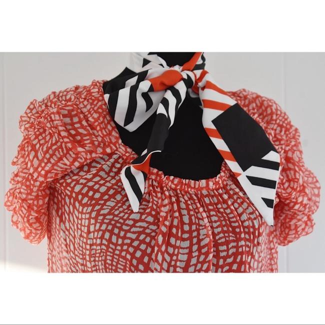 Joie Top Red/White Image 1