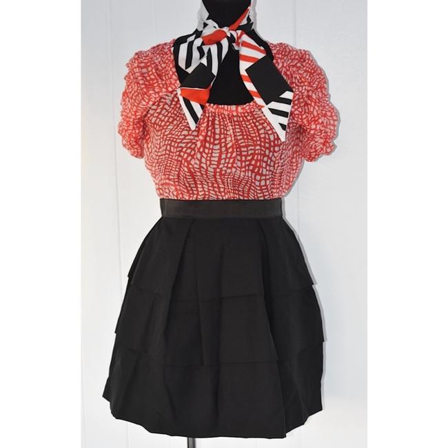 Joie Top Red/White Image 2