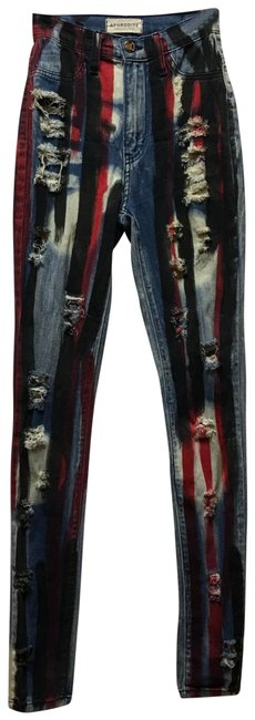 Aphrodite Skinny Jeans-Distressed Image 0