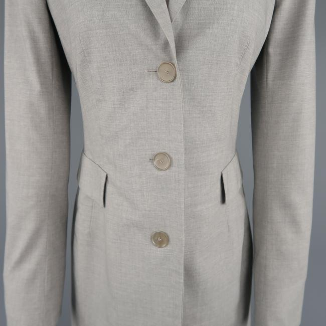 Akris Notch Lapel Sport Single Breasted Lightwetight Trench Coat Image 2