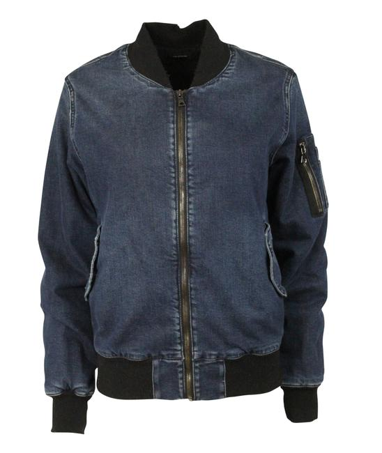 Item - Blue Bomber Jacket Size 8 (M)