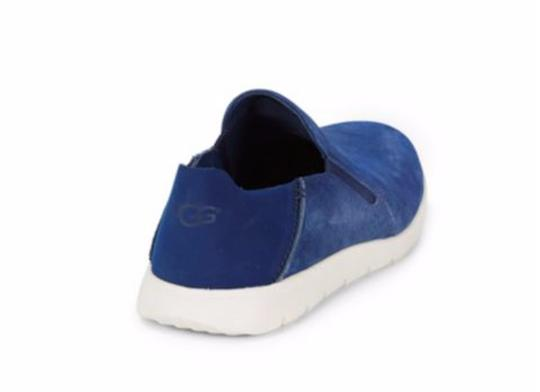 UGG Australia New With Tags Men's Marine Blue Flats Image 3