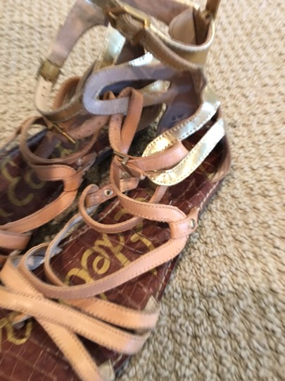 Sam Edelman neutral and gold Sandals Image 2