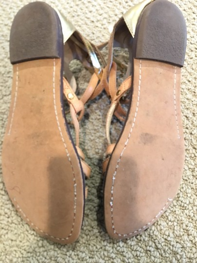 Sam Edelman neutral and gold Sandals Image 4